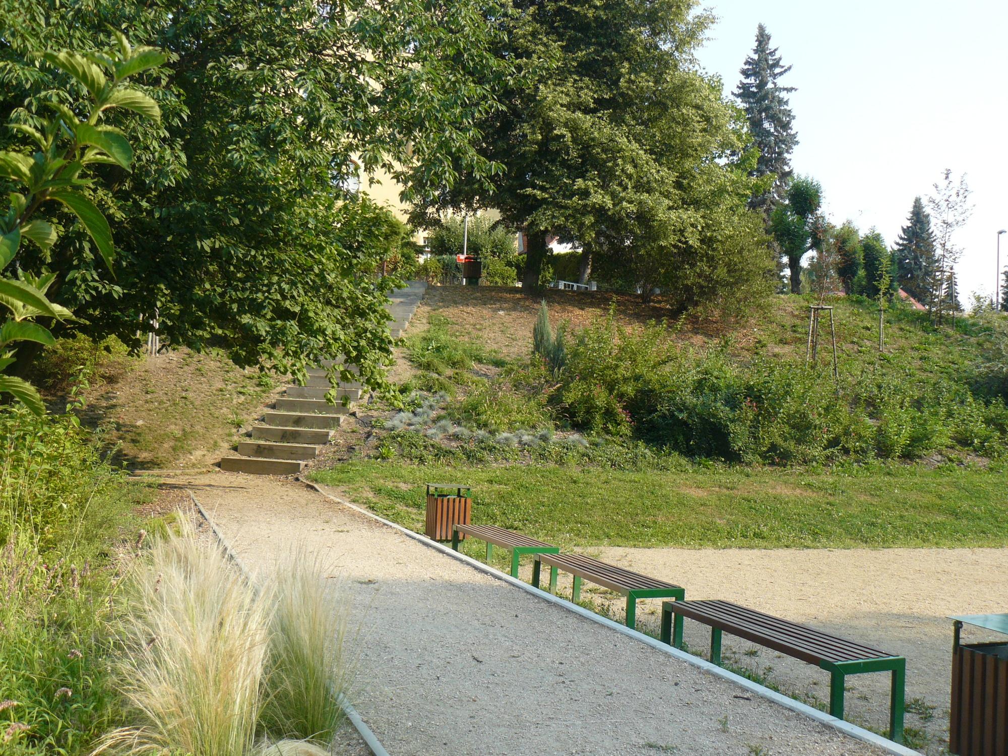 Rekonstrukce rekreačního areálu (ul. Zborovská) vLiberci